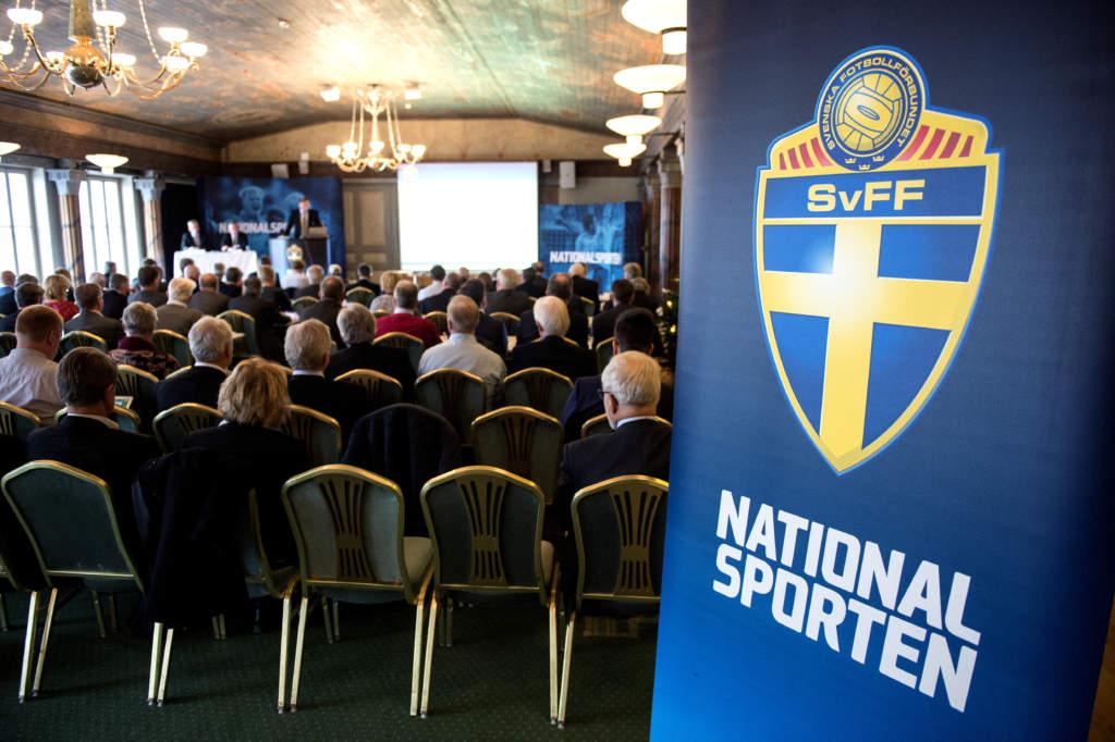 141128 Översiktsbild under Svenska Fotbollsförbundets representantskapsmöte den 28 november 2014 i Stockholm. Foto: Niklas Larsson / BILDBYRÅN  / kod NL / 44030