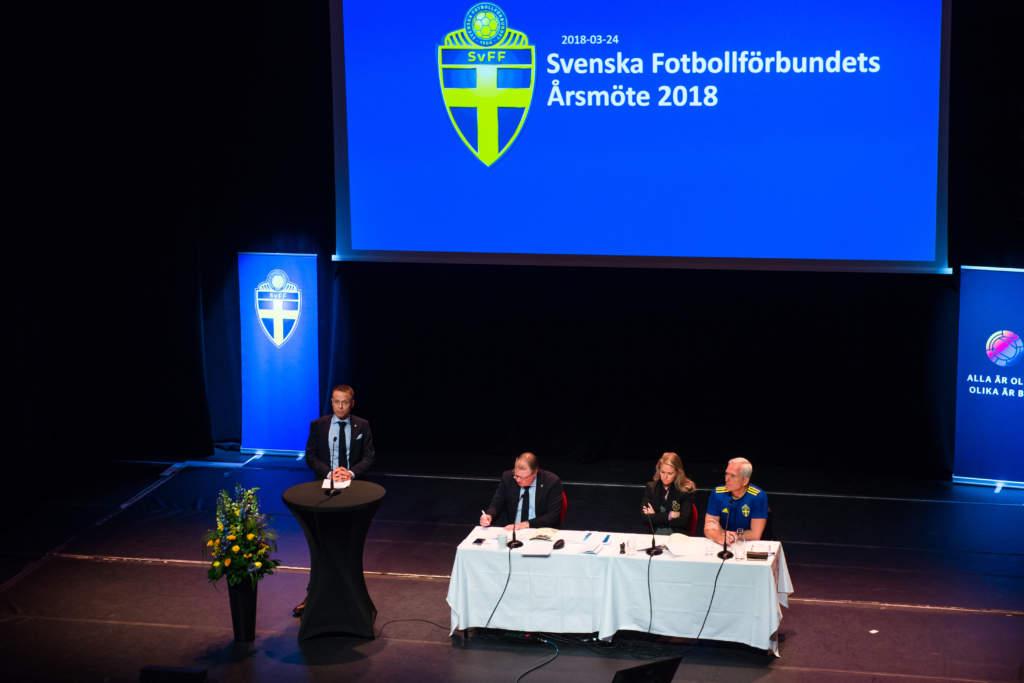 Årsmötet 2018 hölls i Stockholm på Vasateatern.